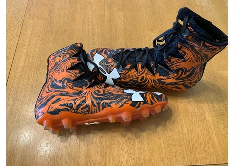 Under Armour football cleats Men's size 7.5